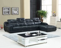Living Room European Style Set No Chaise Sectional Sofa Living Room Furniture Leather Recliner Corner Modern