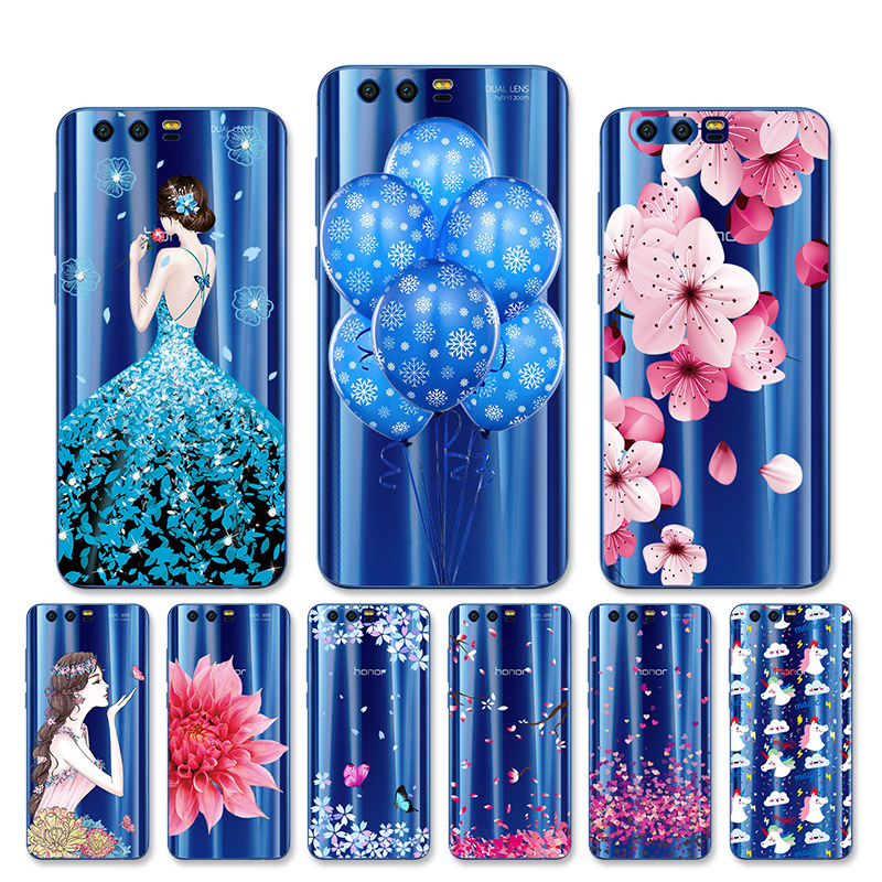 Phone <font><b>Cases</b></font> For Huawei <font><b>Honor</b></font> <font><b>9</b></font> Honor9 <font><b>Lite</b></font> <font><b>Case</b></font> <font><b>Silicone</b></font> Soft TPU Phone Back Cover Full 360 Protective shell Transparent Bags image