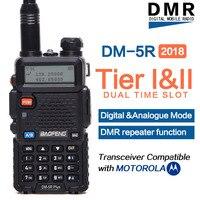 2018 Baofeng DM 5R Plus Digital Walkie Talkie DMR Tier1 Tier2 Tier II Dual Time Slot