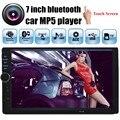 2016 nuevo 7 pulgadas de radio Del Coche 2 din coche MP5 palyer reproductor estéreo del coche de alta calidad bluetooth