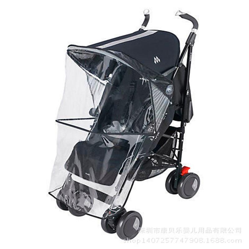 kidadndy Baby stroller cover&rain cover&wind Universal Raincoat Rain Cover Baby Cart Umbrellas Car Dust/Wind Cap YUJU18