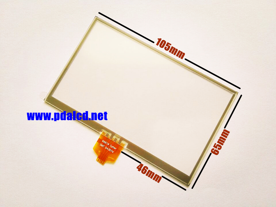 wholesale New 4.3-inch Touch screen for TomTom One XL S30 S300 Classic  30-series GPS Touch screen digitizer panel replacement