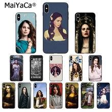 MaiYaCa-funda de silicona para teléfono móvil Apple, protector de TPU suave de color negro para iPhone 8 7 6 6S Plus X XS MAX 5 5S SE XR