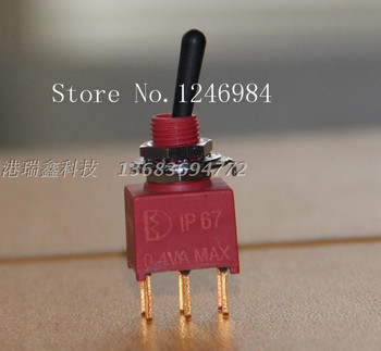 [SA]NE8011 six foot two tranches M6.2 waterproof toggle switch Q11 anti-static plastic handle Taiwan Deli Wei 1AD1--20pcs/lot