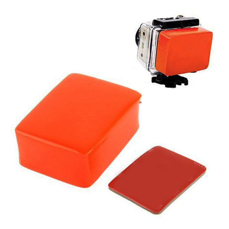 Floating Sponge Mount Waterproof For Yi For GoPro Hero 4 3 3 2 1 Action Camera