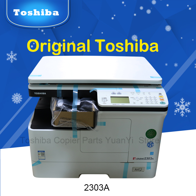 23PPM C Version Original Toshiba copier machine Black and