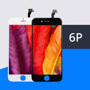 Image 1 - 10 Stks/partij Kwaliteit Aaa Geen Dead Pixel Lcd scherm Voor Iphone 6 Plus Lcd Touch Screen Digitizer Vergadering Scherm Vervangen Gratis verzending