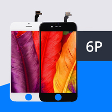 10 sztuk/partia jakości AAA nie martwy piksel LCD dla iPhone 6 Plus LCD ekran dotykowy Digitizer zgromadzenie wyświetlacz wymiana darmowa wysyłka