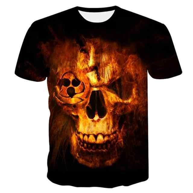 2018 Baru 3D Lengan Pendek Mengkilap Gelap T-shirt Kualitas Baik 3D Pria Wolf T-shirt Keren Serigala Gambar T-shirt Musim Panas MMA