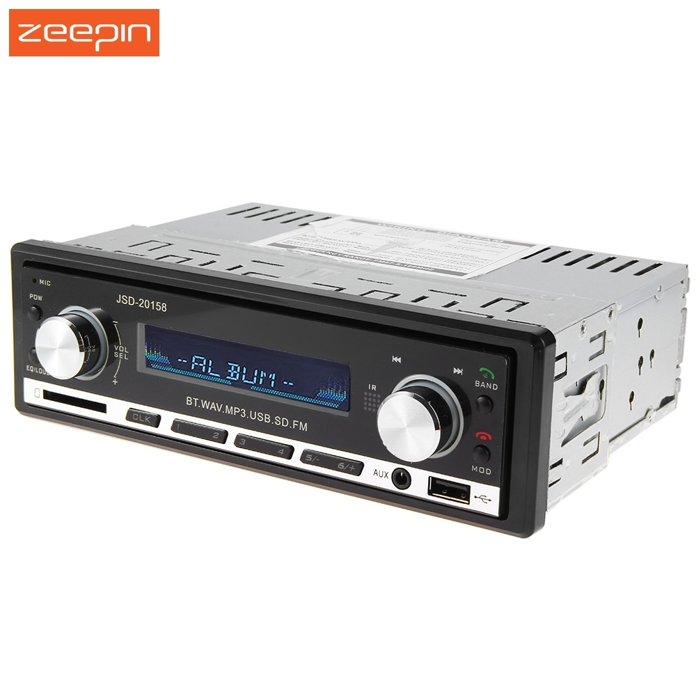 12V Bluetooth V2.0 Car Audio Stereo MP3 Player Radio In-dash Support USB AUX Input with Remot