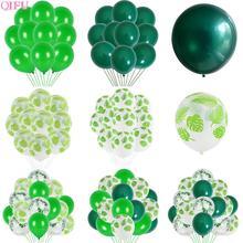 Mint Green Balloons Light Ballons baloons Dark Rreen Balloon Birthday Party decor Kids Jungle Safari