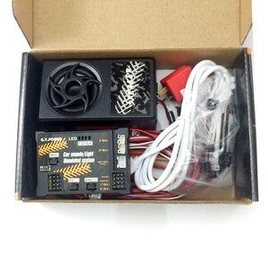 Image 3 - GT POWER RC Módulo de juguete para coche, sistema de sonido/luz simulado para coche de escalada, SUV, Control remoto, camión, vehículo, pieza DIY
