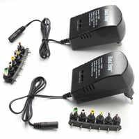 Multi tension 3 v 4.5 v 5 v 6 v 9 v 12 v DC adaptateur adaptateur d'alimentation réglable chargeur universel câble convertisseur 6 prises