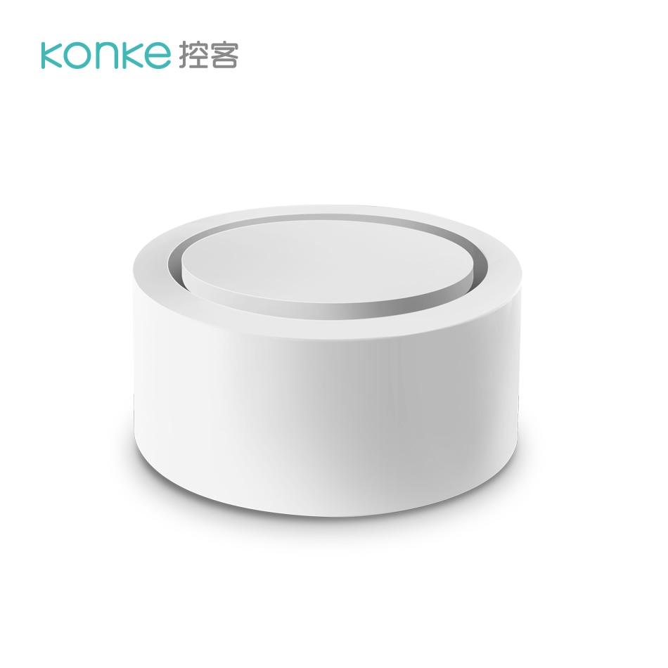 Botão de Protocolo Inteligente sem Fio Segurança em Casa Konke Zigbee Aberto Interruptor Remoto Casa Aplicativo Controle App 3.0