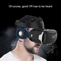VR Shinecon 4th Generation 3D Senior VR Headset 3D Glasses VR Movie Glasses Cardboard with Headset For 4.5 6.0 Inch Smartphone