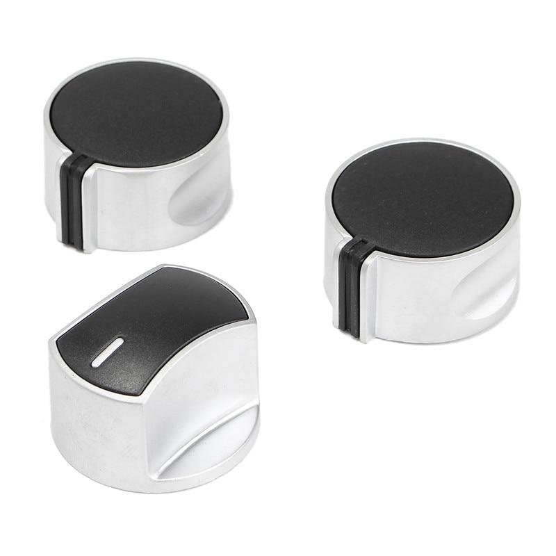 Placa de cocina de horno de Ajuste Universal Multi Perilla de control interruptor de plata Multi-Pack