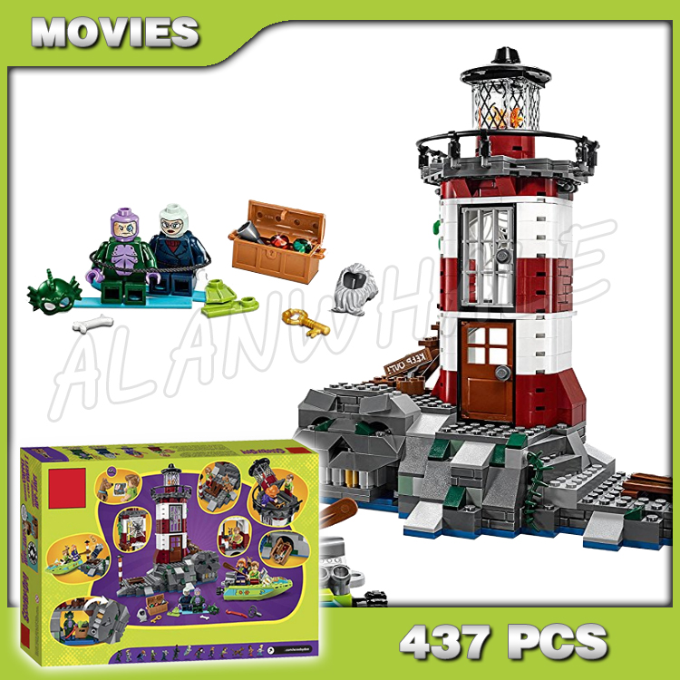 Scooby Doo Haunted Lighthouse Building Toys Blocks new 10431
