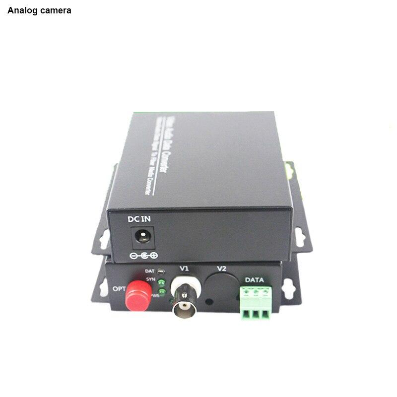 20KM Fiber Video Optical single fiber single mode fiber optic FC transmitter receiver converter RS485