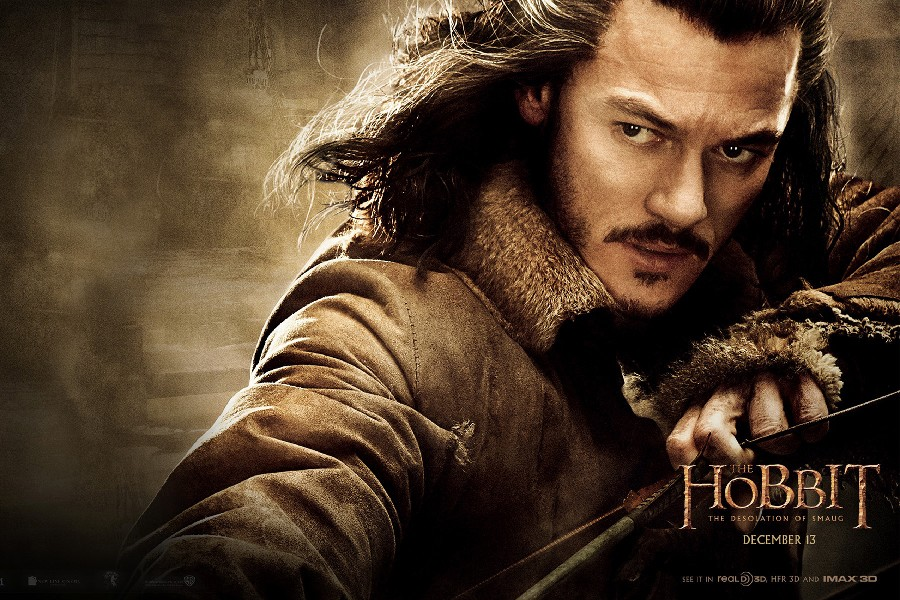 DIY frame the hobbit the desolation of smaug 2013 movie luke evans Poster Fabric Silk Posters And Prints For Wall Decor 517IEER image