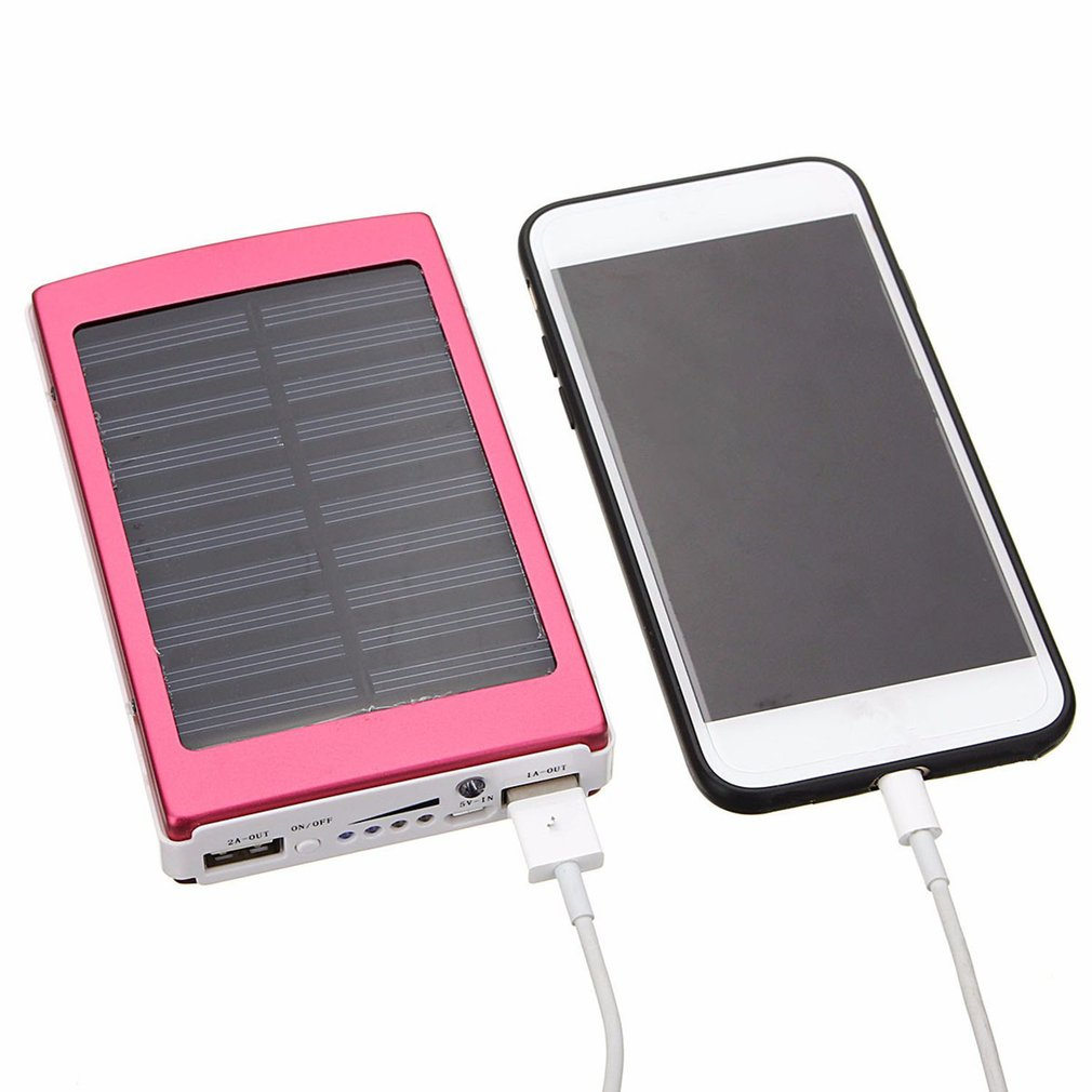 Solar battery charger for phone recessed smoke detector