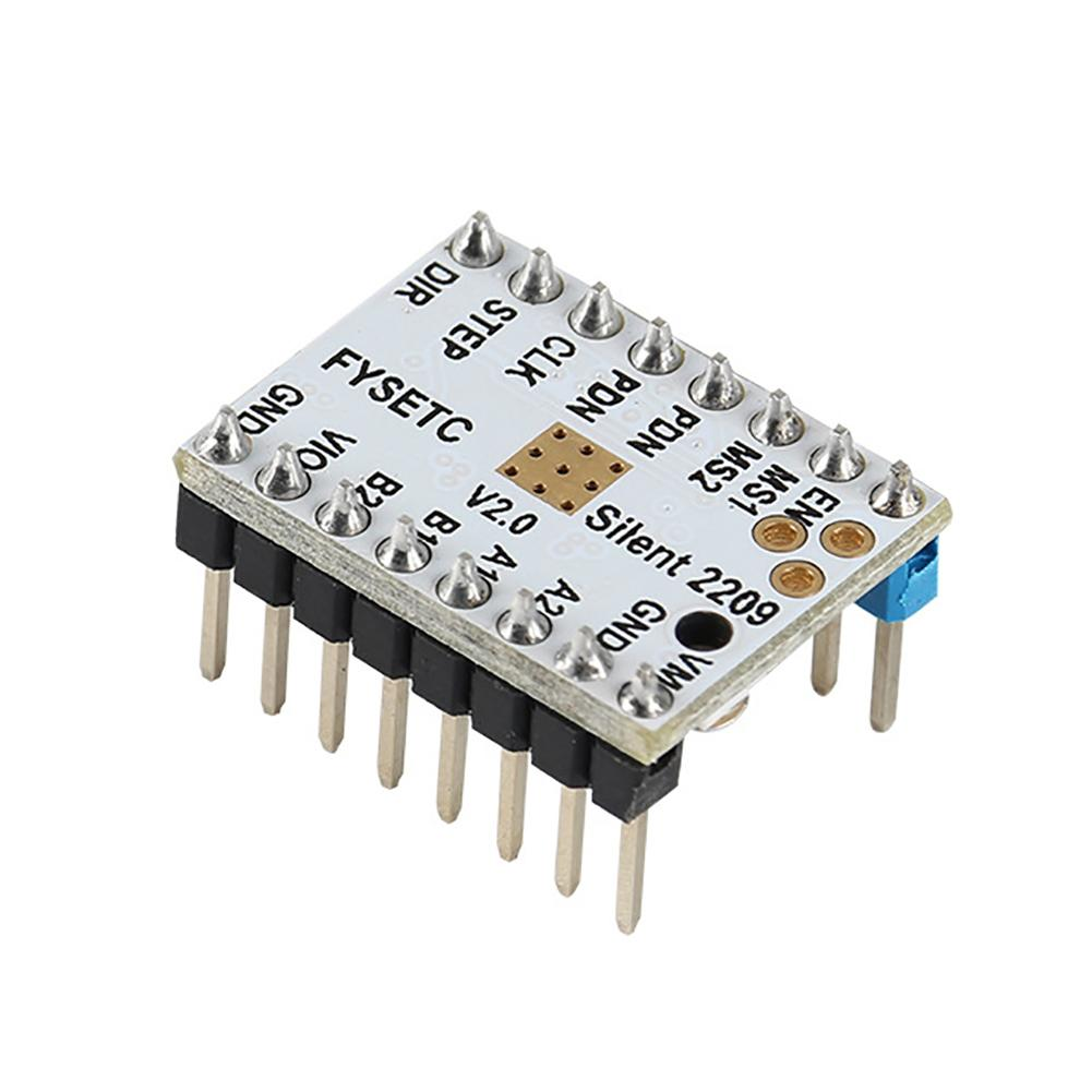 3D Printer Accessories TMC2209 V2 0 Silent Stepper Motor Driver Voltage 5 5v High Subdivision 256 in Computer Cables Connectors from Computer Office