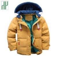 HH niños chaqueta con capucha niños de invierno bebé niña chaqueta de otoño niño abrigo de los niños traje de nieve chaqueta de terciopelo prendas de vestir 3 4 5 8 de 10 años
