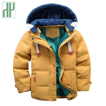 HH Kids jacket boys Hooded Winter baby girl autumn jacket toddler coat children snowsuit Velvet Jacket Outwear 3 4 5 8 10 Years