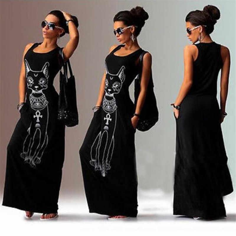 Длинное Макси платье 2019 женское летнее повседневное Бохо пляжное сексуальное обтягивающее платье вечерние платья Vestidos женские длинные большие размеры