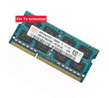 Garantía de por vida Para hynix DDR3 4 GB 8 GB 1333 MHz PC3-10600S Original auténtica memoria DDR 3 4G notebook Laptop RAM 204PIN SODIMM