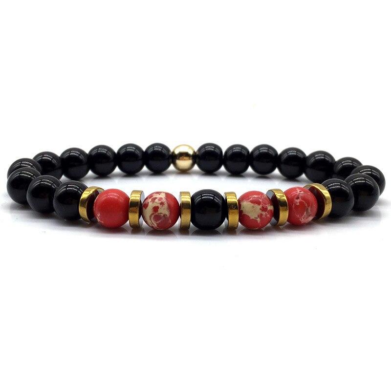 De Goedkoopste Prijs Naiqube Nieuwe 4 Kleuren Armband Mannen Vrouwen Trendy Armband Kralen Voor Paar Sieraden Pulseras Mujer Hombre Gift