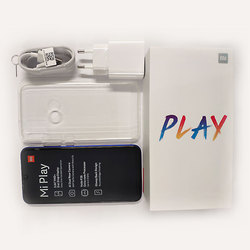"""Wersja globalna Xiao mi mi grać 4GB 64 GB, proszę kliknąć na Mtk Helio P35 Octa rdzeń podwójny 12MP + 2MP AI kamera 5.84 """"19:9 smartfon 6"""