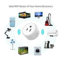 Mini Smart Wifi Socket US Plug Remote Control Power