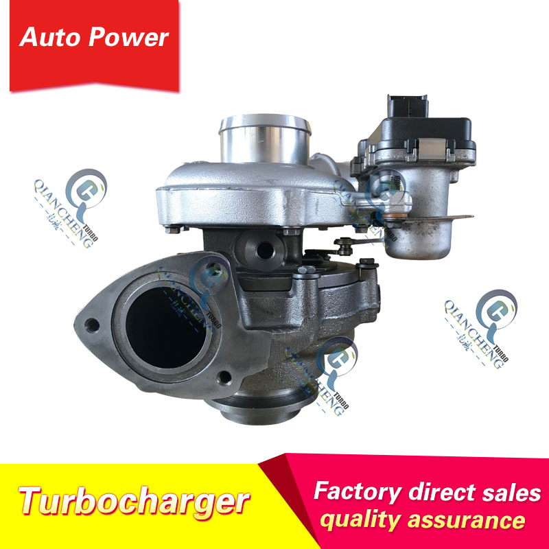 Turbocompresseur TD04 pour Land Rover Freelander 2.2 T D avec moteur DW12C JLR TD04 Turbo BG9Q6K682CB 49477-01203 49477-01202