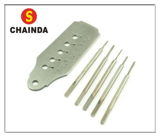 Free Shipping 1 Set Watchmakers Tap and Die Screw Plate Set Taps & 1 Plate 0.6-1mm dreld 30pcs metric mini taps dies set m1 m2 5 screw thread plugs taps alloy steel screw taps with tap wrench hand tools set