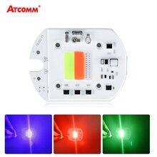 50W COB LED RGB Chip Lamp Smart IC Auto Mode Diode Array Spotlight Stage Light Landscape Square Street Lighting 110V 220V