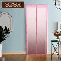 New Style 3D Cat S Eye Door Screen EVA Environmental Printing Curtains Air Conditioning Anti Mosquito