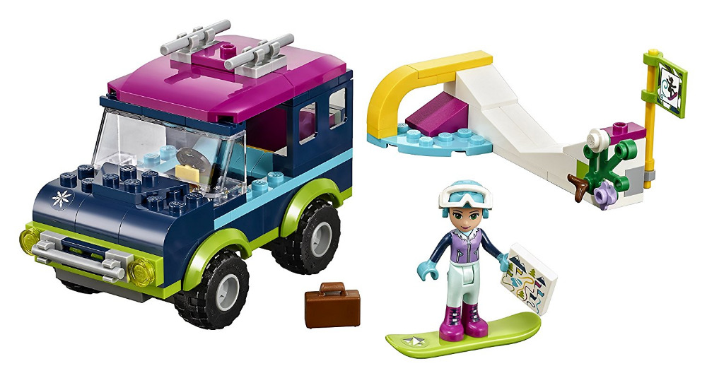 LEPIN Building Blocks Friends Series Snow Resort Off-Roader Classic For Girl Kids Model Toys Marvel Compatible Legoe