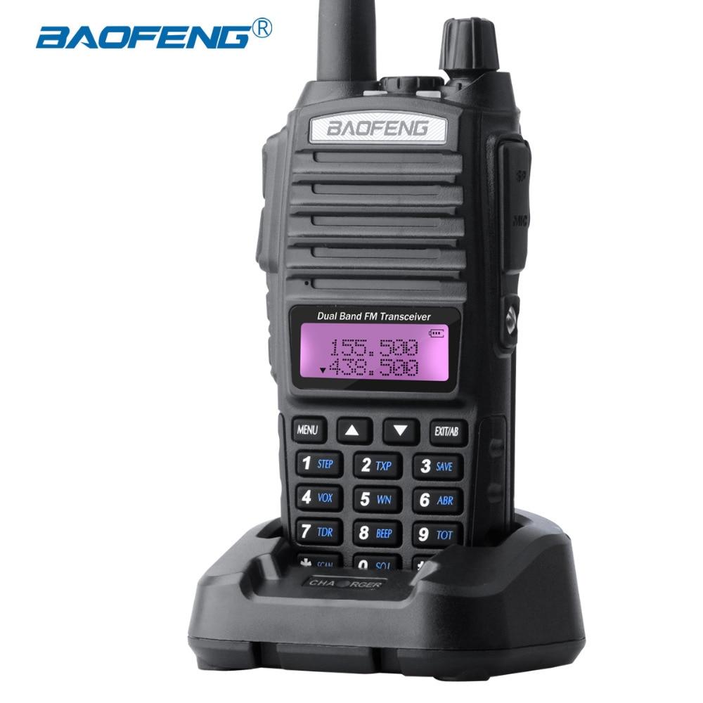 Baofeng UV-82 Walkie Talkie Canales duales UV82 Radio CB Botón PTT - Radios