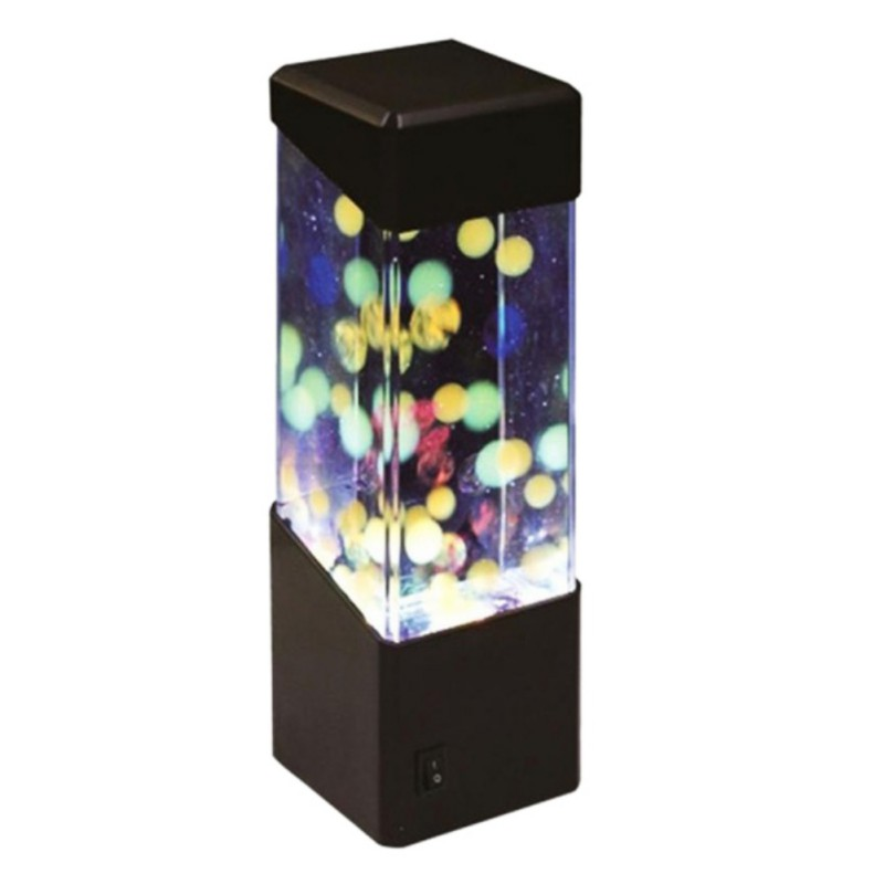 Bedside Table Motion Lamp Decorative Party Office Home Led
