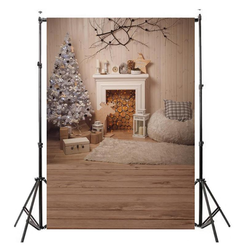 Vanpowe Vinyl Cloth Photo background Holiday Home Photography Studio Backdrop Canvas Photo Background DecorProps fotografia free shipping 5x7ft christmas tree vinyl cloth photo background holiday children backdrop studio photography backdrop