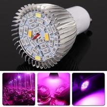 5X 3W GU10 28leds 85-265V LED Hydroponic Plant Grow Growth Light Lamp Bulb Lighting For Flowers Vegetables Aquarium