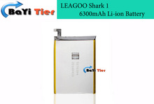 High Quality 6300mAh For LEAGOO Shark 1 battery Li-ion Battery Replacement For LEAGOO Shark 1 Smartphoe + in stock