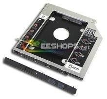 Best Laptop 2nd HDD SSD Caddy for Asus ROG G752 G752VY G752VL G752VT Second Hard Disk Enclosure BD DVD CD Optical Drive Bay Case