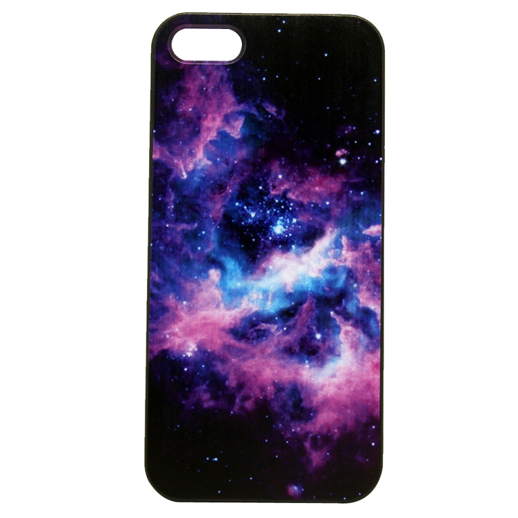 Space Nebula Skin Painted Cover Case for iPhone 4 4S 5 5S 5C SE 6 6S 7 Plus Samsung Galaxy S3 S4 S5 Mini S6 S7 S8 Edge Plus