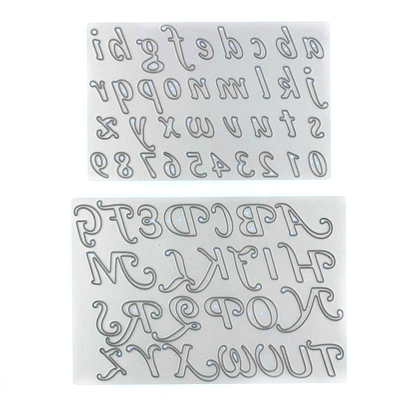 numberletter die cutsmetal die cutting dies in scrapbooking embossing folder for sizzix fustella big shot cutting machine