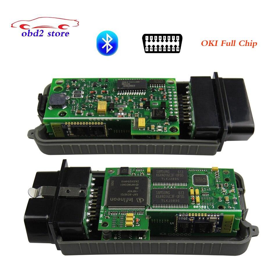 VAS5054A Bluetooth диагностический Сканер VAS 5054A ODIS vas 3.0.3 Без OKI 5054 obd2 поддержка Протокола UDS диагностический инструмент