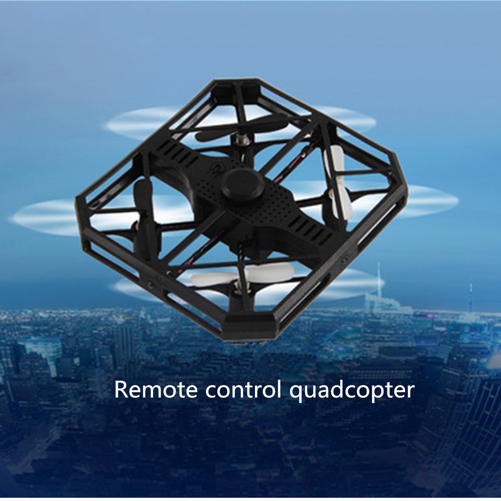 Helicopter Radio Remote Control Aircraft Altitude Hold Quadcopter Pocket Drone Quadcopter Helicopter RC Remote Control Toy