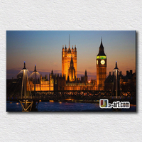London Big Ben Wallpaper Famous Place Canvas Prints Beautiful And Interesting Picture For Wall Decoration