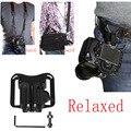 Exyuan Ourdoor Quick Shoot Waist Belt Buckle Camera Holster for Fuji Fujifilm X100 X100s X100m M100t XT10 X-T1 XF1 XQ1 XE1 XE2