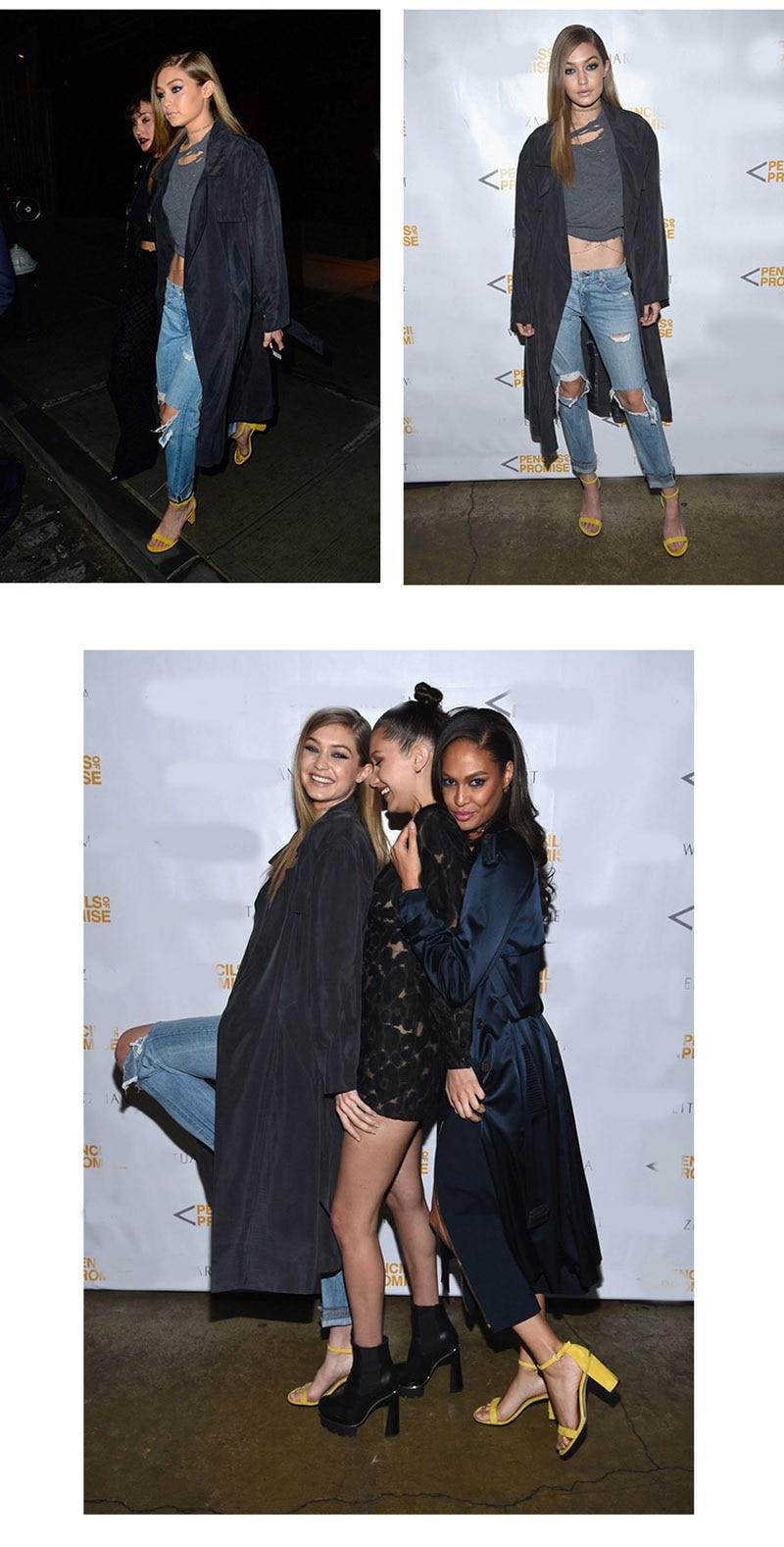 GENSHUO 2019 Ankle Strap Heels Women Sandals Summer Shoes Women Open Toe Chunky High Heels Party Dress Sandals Big Size 42